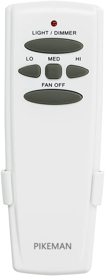 Ceiling Fan Remote Control Replace Hampton Bay Harbor Breeze Hunter LED Fan-HD UC7078T CHQ7078T L3H2010FANHD Fan-HD5 (Remote Only) -Pikeman