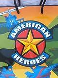 """American Heroes, 9"""" X 8"""" Gift Bag"""