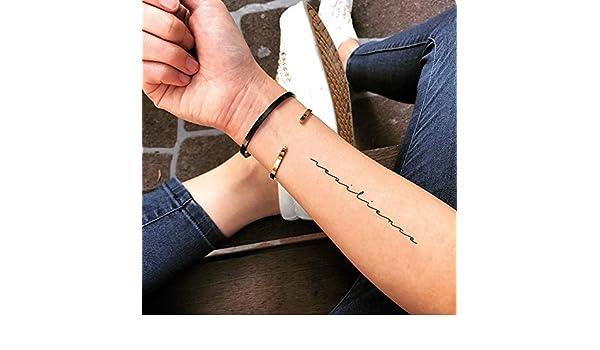 Tatuaje Temporal de Resiliencia (2 Piezas) - www.ohmytat.com ...