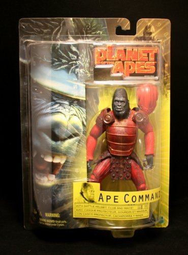 Planet of the Apes Movie, Ape Commander Action Figure, 7 Inches