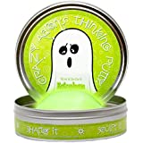 Crazy Aaron's Thinking Putty, 3.2 Ounce, Glow in the Dark Ectoplasm
