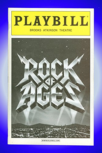 Tor of Ages, Broadway Playbill + Constantine Maroulis , Kerry Butler , James Carpinello, Adam Dannheisser, Mitchell Jarvis