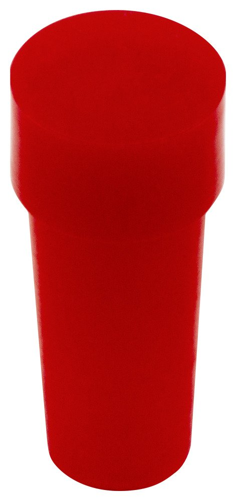 Caplugs 99191089 Plastic Type K Copper Tubing Plug. K-6, PE-LD, Cap OD 0.37'' Plug ID 0.340'', Red (Pack of 1000)