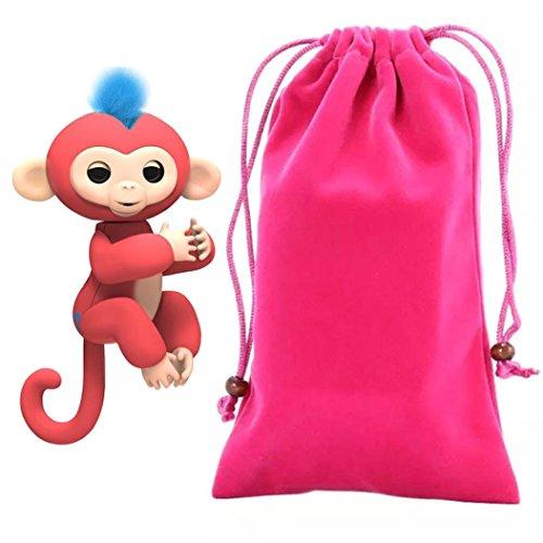 For Fingerlings Monkey,Sunfei Dolls Portable Kids Play Stora