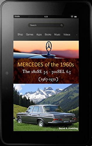 W220 Chassis (Mercedes-Benz 280SE 300SEL W108/109 V8 with buyer's guide and chassis number, data card explanation: From the 280SE 3.5 to the 300SEL 6.3, updated April 2018)