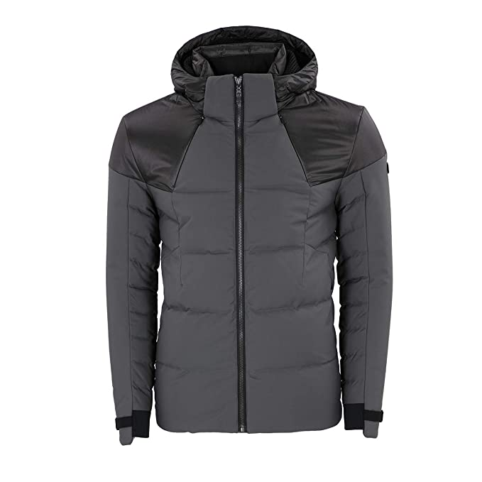 1b5fd3ed Hugo Boss Green Jeiko Polyester Down Grey Jacket M Grey: Amazon.ca ...