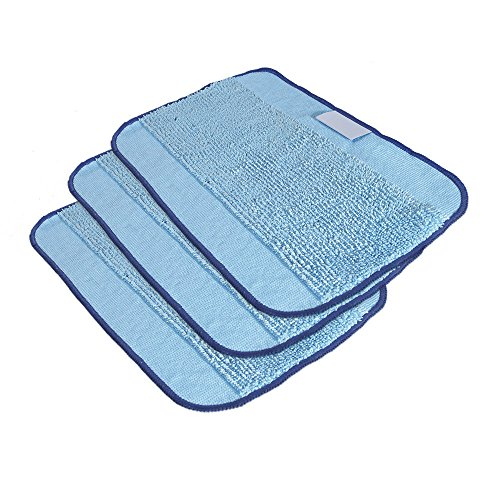 SG 3-Pack, Mopping Cloths for Braava Floor Mopping Robot by SG