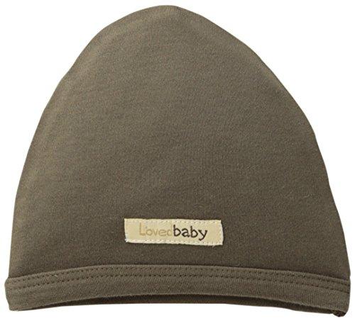 L'ovedbaby Unisex-Baby Newborn Organic Cute Cap, Bark, 0/3 Months]()