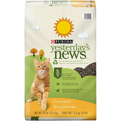 Purina Yesterday's News Unscented Paper Cat Litter from Purina Yesterday's News