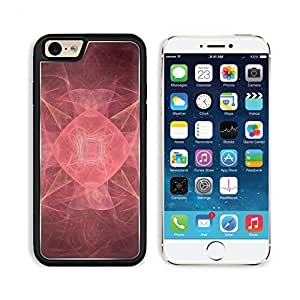 Fractal Abstract Pink Pretty 3DCom iPhone 6 Cover Premium Aluminium Design TPU Case Open Ports Customized Made to Order