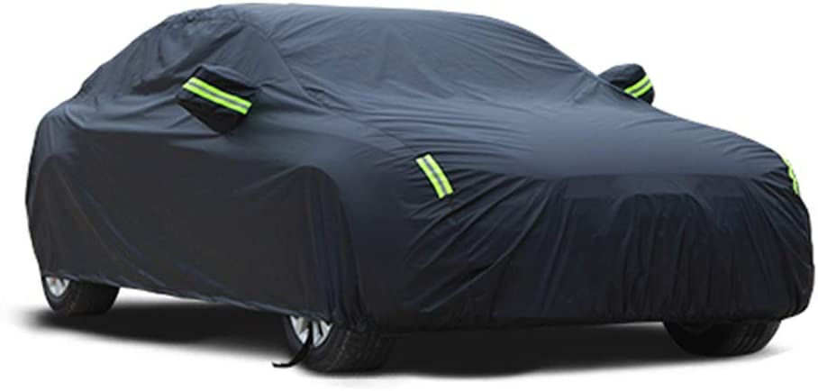 Car cover Maserati Ghibli Special Car Cover Car Clothing Thick Oxford Cloth Sun Protection Rain Cover Car Cloth Car Cover Size : Oxford cloth - built-in lint
