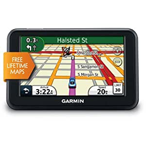 Garmin nuvi 40LM 4.3-Inch Portable GPS Navigator with Lifetime Maps (US and Canada) (Discontinued by Manufacturer)