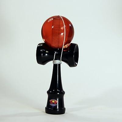 Bahama Kendama Standard Size Acrylic Kendama RED: Toys & Games