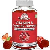 Vitamin B Complex Gummies: Vitamin B12, B7 (Biotin), B6, B3 (Niacin), B5, B6, B8...