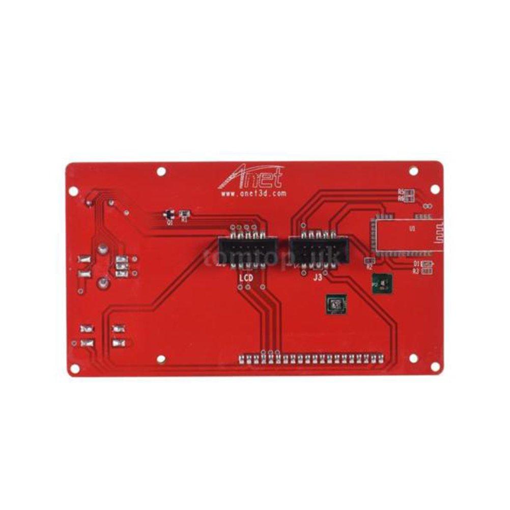 UEETEK LCD 12864 M/ódulo inteligente de pantalla de visualizaci/ón con cable para RAMPS 3D Kit de impresora accesorio