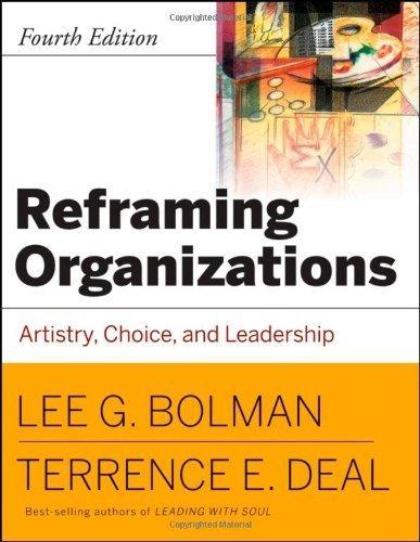 reframing organizations - 7