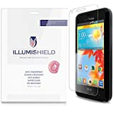 iLLumiShield - LG Enact Screen Protector Japanese Ultra Clear HD Film with Anti-Bubble and Anti-Fingerprint - High Quality (Invisible) LCD Shield - Lifetime Replacement Warranty - [3-Pack] OEM / Retail Packaging (Model(s): VS890)