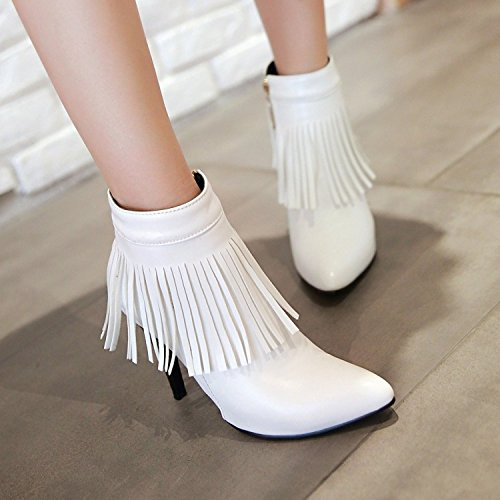 boots the heels Tip QX short boots stream ZQ and White ladies of versatile the high with for fine boots week wR7CxCPq