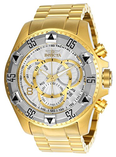 Men's 'Excursion' Quartz Two-Tone and Stainless Steel Casual Watch, Color:Gold (Model: ) - Invicta 24264