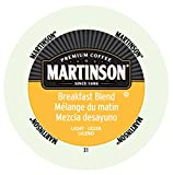 Martinson Coffee Breakfast Blend, Portion Pack for Keurig Brewers (96 Count)