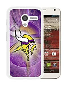 Popular Custom Designed Cover Case With Minnesota Vikings 24 White For Motorola Moto X Phone Case