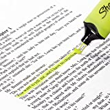Sharpie 2067517 Clear View Highlighters, Chisel