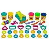 Play-Doh - Mega Set Le Serpentin - Kit de Pâte à Modeler 5 Pots + Accessoires