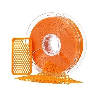 polymaker polyflex 1,75 mm naranja flexible Premium filamento 750 ...