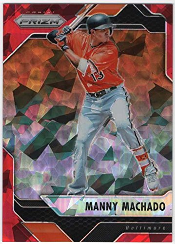 2017 Panini Chronicles Baseball Prizm Red Crystals #30 Manny Machado SER/75 Baltimore ()