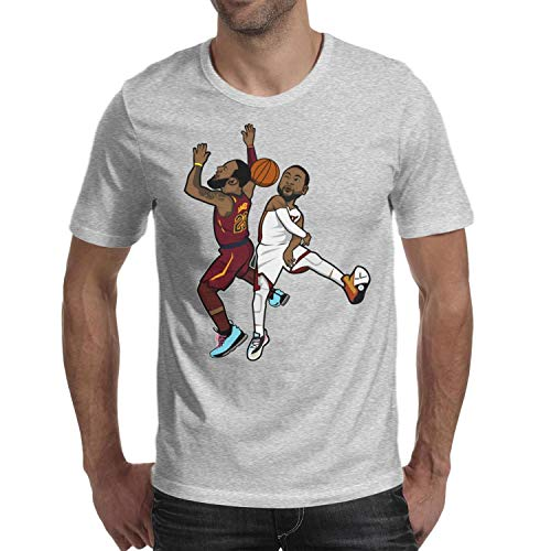 D Jersey Wade (Mens Flash Block Shots King O-Neck Tee Jersey Casual)