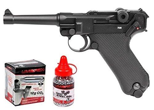 Legends Blowback P08 CO2 Pistol Kit, Full Metal air pistol by Legends