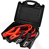 Auto Battery Jumper Cables 25 Feet 0 Gauge Heavy Duty With Carry Case