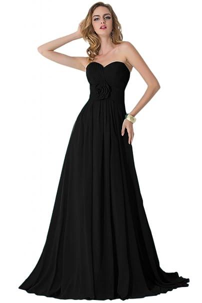 Sunvary Vintage negro columna de volantes madre de novia vestidos vestidos del baile