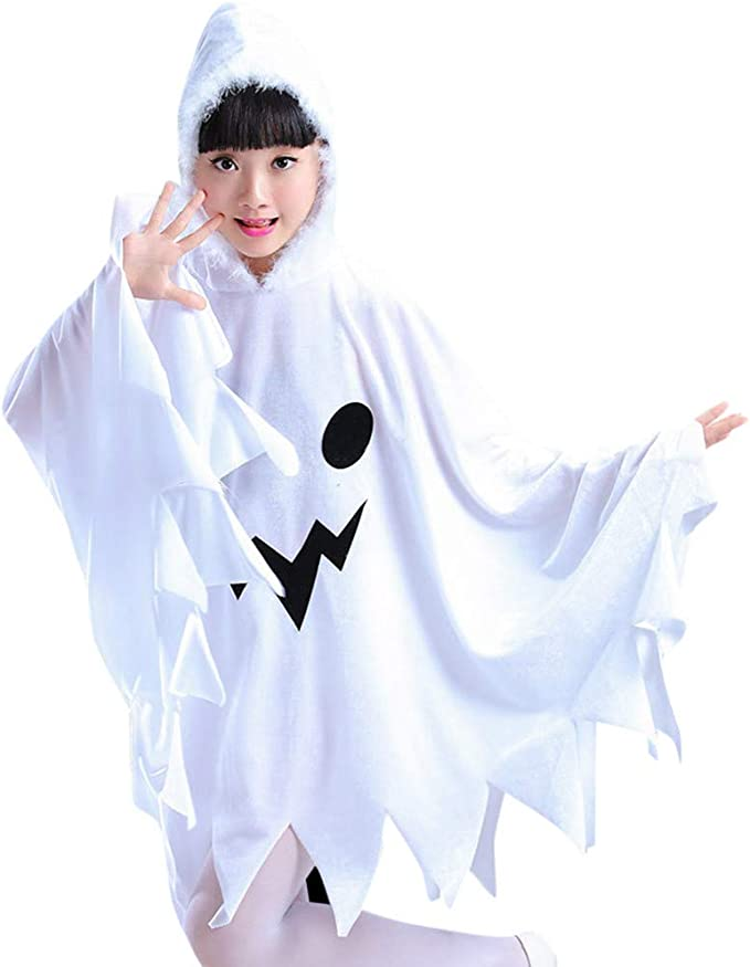 MAYOGO Disfraz Halloween Cape Bebe Niña Cosplay Capa Fantasma Bebe ...