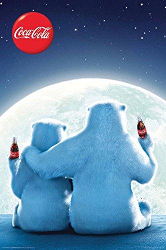 Aquarius Coca Cola Bears Poster