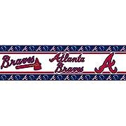 MLB Atlanta Braves Wall Border