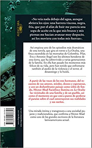 La Oculta (Spanish Edition): Héctor Abad Faciolince: 9786071137357: Amazon.com: Books