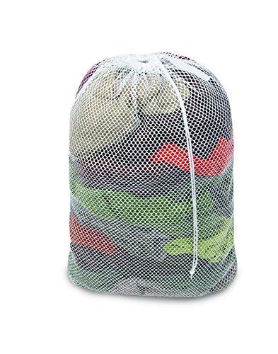 Pro-Mart DAZZ Heavy Duty Mesh Laundry Bag, White
