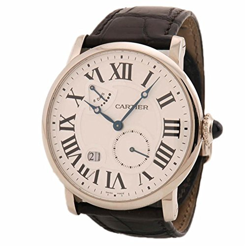 Cartier Rotonde de Cartier mechanical-hand-wind mens Watch W1556202 (Certified Pre-owned)