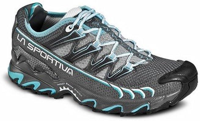 La Sportiva Ultra Raptor Woman Grey/Ice - Deportivos de Running para Mujer, Color Azul, Talla 38: Amazon.es: Zapatos y complementos