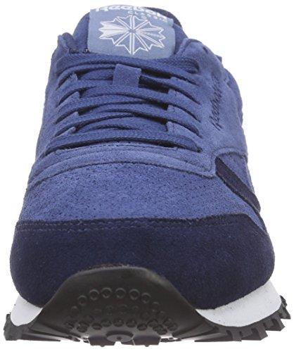 batik blue Mp Sneakers Slate Reebok Classic Blue white black Hommes Bleu Blau Leather faux Indigo Basses 8EE7Owfq