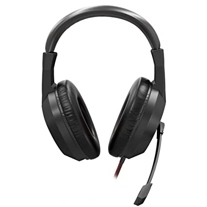Mars Gaming MH217 - Auriculares gaming (micrófono plegable y flexible, diadema ajustable, drivers