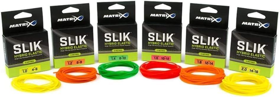Gummipuffer zum Stippen auf Friedfische Fox Matrix Slik Elastic 3m 10-12 Gummi Zug zum Posenangeln Gummizug zum Stippangeln Gr/ö/ße:Gr 1.6mm