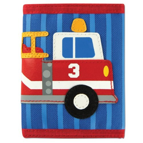 Stephen Joseph Firetruck Wallet by Stephen ()