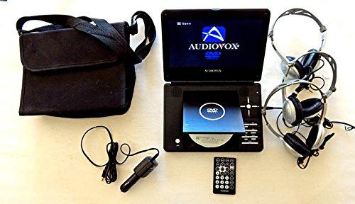 amazon com used audiovox portable dvd player system model d1998 rh amazon com Audiovox Headrest DVD Player Audiovox Headrest DVD Player