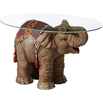 Wonderful Design Toscano Jaipur Elephant Festival Coffee Table