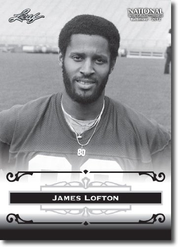 (2012 Leaf HOF Baltimore National Sports Collector Promo #JL1 James Lofton - Green Bay Packers (Football Hall of Fame)(Collectible Trading Card))