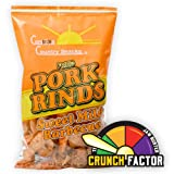 Fried Pork Rinds Sweet & Mild BBQ 24 bags (1.75oz)