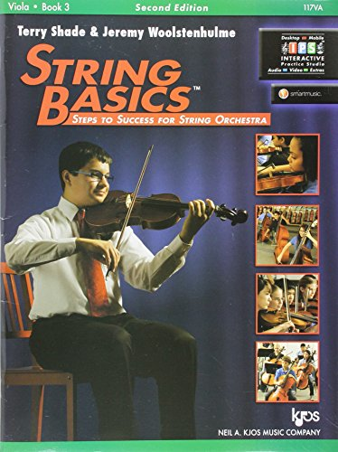 117VA - String Basics Book 3 - Viola
