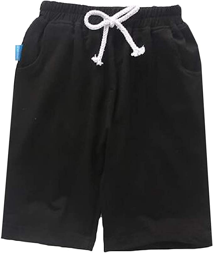 Macondoo Boys Summer Cute Jean Denim Stretchy Girls Shorts